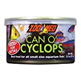 Zoo Med Can O' Cyclops Fresh Nutritious Food for Small Size Aquarium Fish 3.2oz