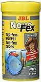 JBL NovoFex 30630 Leckerbissen für Aquarienfische, Tubifexwürfel 250 ml