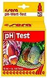 sera 04310 pH Test ein Wassertest für 100 Messungen, misst zuverlässig und genau den pH-Wert für Süß- & Meerwasser, im Aquarium oder Teich