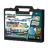 JBL Wassertest-Koffer, Mit 6 Tests und Zubehör, Für Süßwasser-Aquarien, Nachfüller, ProAquaTest Combi Set Plus NH4