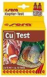 sera 04710 Cu-Test 15 ml - Kupfer Test fr ca. 50 Messungen, misst zuverlssig und genau den Kupfergehalt, fr S- & Meerwasser, im Aquarium oder Teich