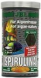 JBL Spirulina 30002 Premium Alleinfutter fr algenfressende Aquarienfische, Flocken 1 l