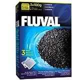 *Fluval Aktivkohle 3er Pack 3x100 g
