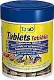 Tetra Tablets TabiMin Hauptfutter (Futtertabletten für am Boden gründelnde Zierfische, für alle bodenfressenden und scheuen Fische), 275 Tabletten Dose