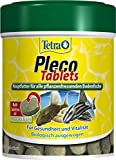Tetra Pleco Tablets Nhrstoffreiches Hauptfutter fr alle pflanzenfressenden Bodenfische (z.B. Welse), verschiedene Gren