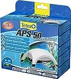 Tetra APS 50 Aquarium Luftpumpe - leise Membranpumpe für Aquarien von 10-60 L, weiß