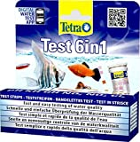 *Tetra Test 6in1 - Wassertest für das Aquarium, schnelle und einfache Überprüfung der Wasserqualität, 1 Dose (25 Teststreifen)