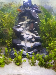 Wasserfall Aquarium - Sandwasserfall